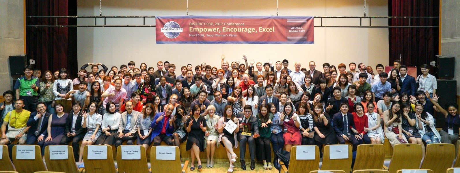 D93p, Toastmasters in Korea