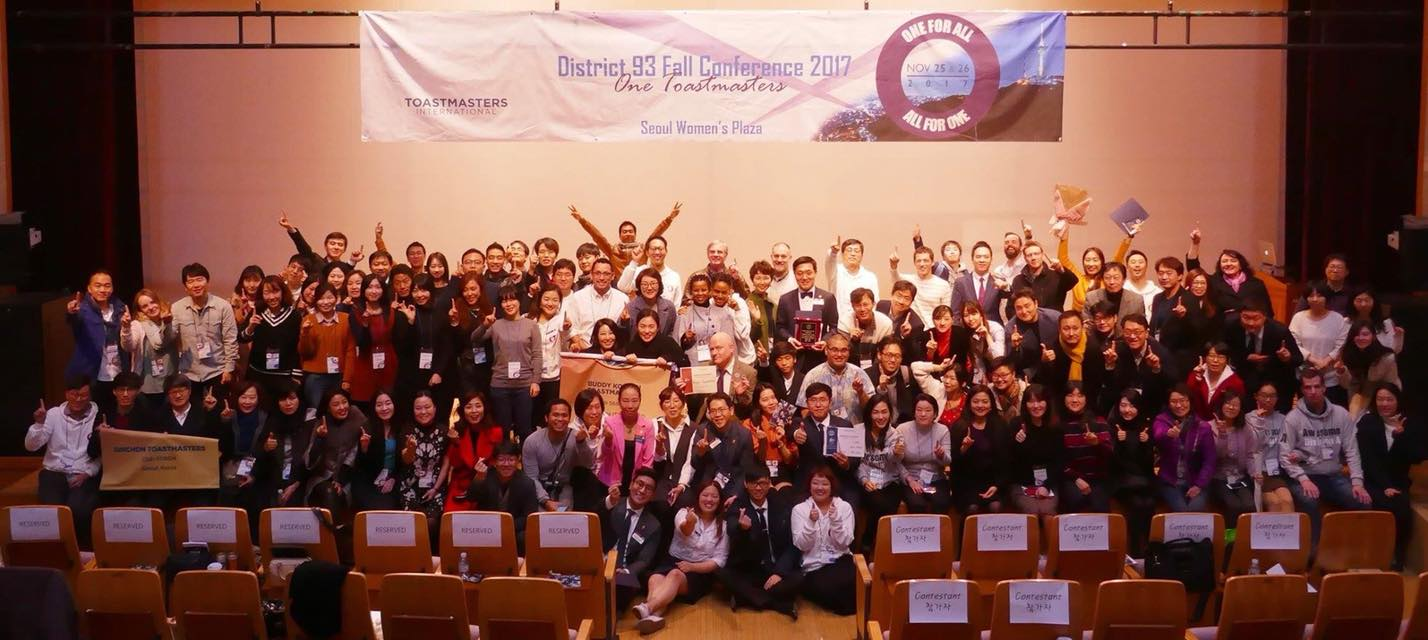 D93, Toastmasters in Korea