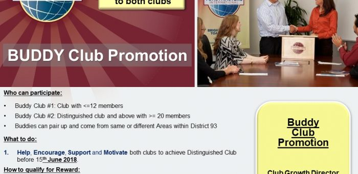 Buddy Club and Member Promotion